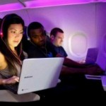 Virgin America Takes Google Chromebook into the Clouds