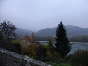 A view of the Danube in the Wachau valley