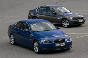 THe BMW 3er Series offers a coupe, sedan (both pictured), and cabriolet