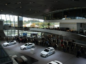 The Premiere Delivery Area at the BMW Welt