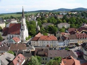 The town of Melk