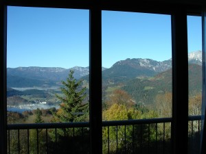 View at the InterContinental Resort Berchtesgaden