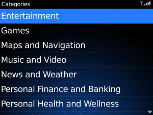 App World_Categories