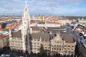 Munich's Rathaus (city hall)