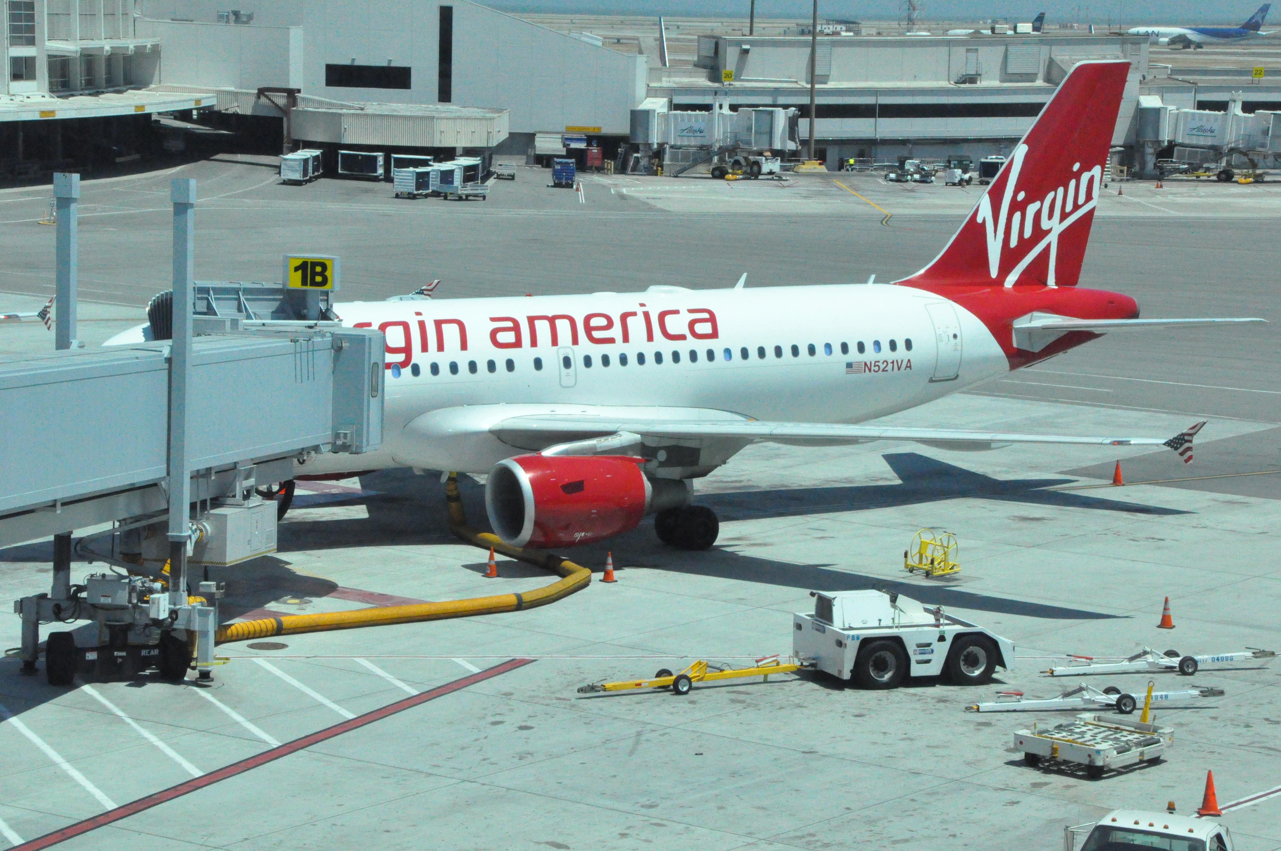 Checking A Car Seat With Virgin America