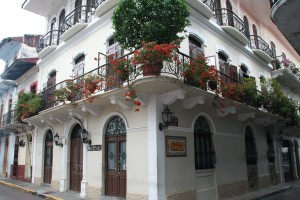 Casco Viejo, old town area of Panama City