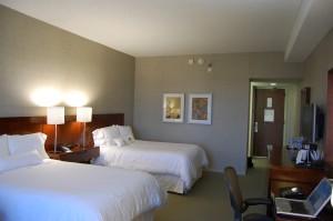 A Starwood hotel room