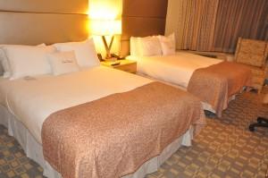 A DoubleTree by Hilton room