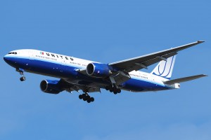 United Airlines Boeing 777 200