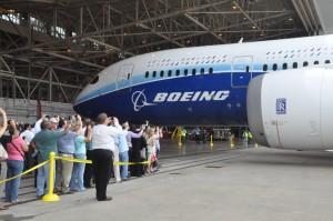 Dreamliner ZA003 on tour at DFW