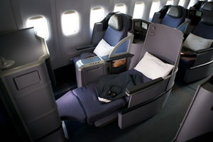 United BusinessFirst cabin