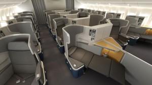 American Boeing 777-300-ER Business Class