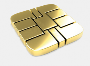 Gold EMV Chip