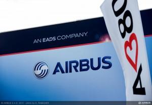 Airbus Pavilion at the Farnborough Air Show