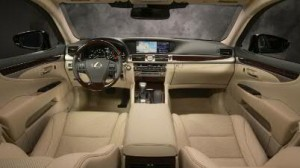 2013 Lexus LS 460 interior