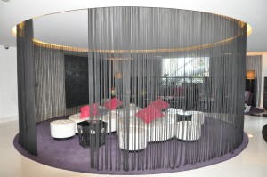 Lobby of Starwood's W Hotel, Doha, Qatar