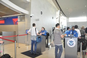 PreCheck at Delta's terminal in Detroit