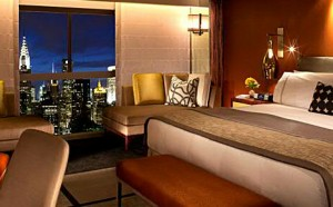 Deluxe room in West Tower at ONE UN New York