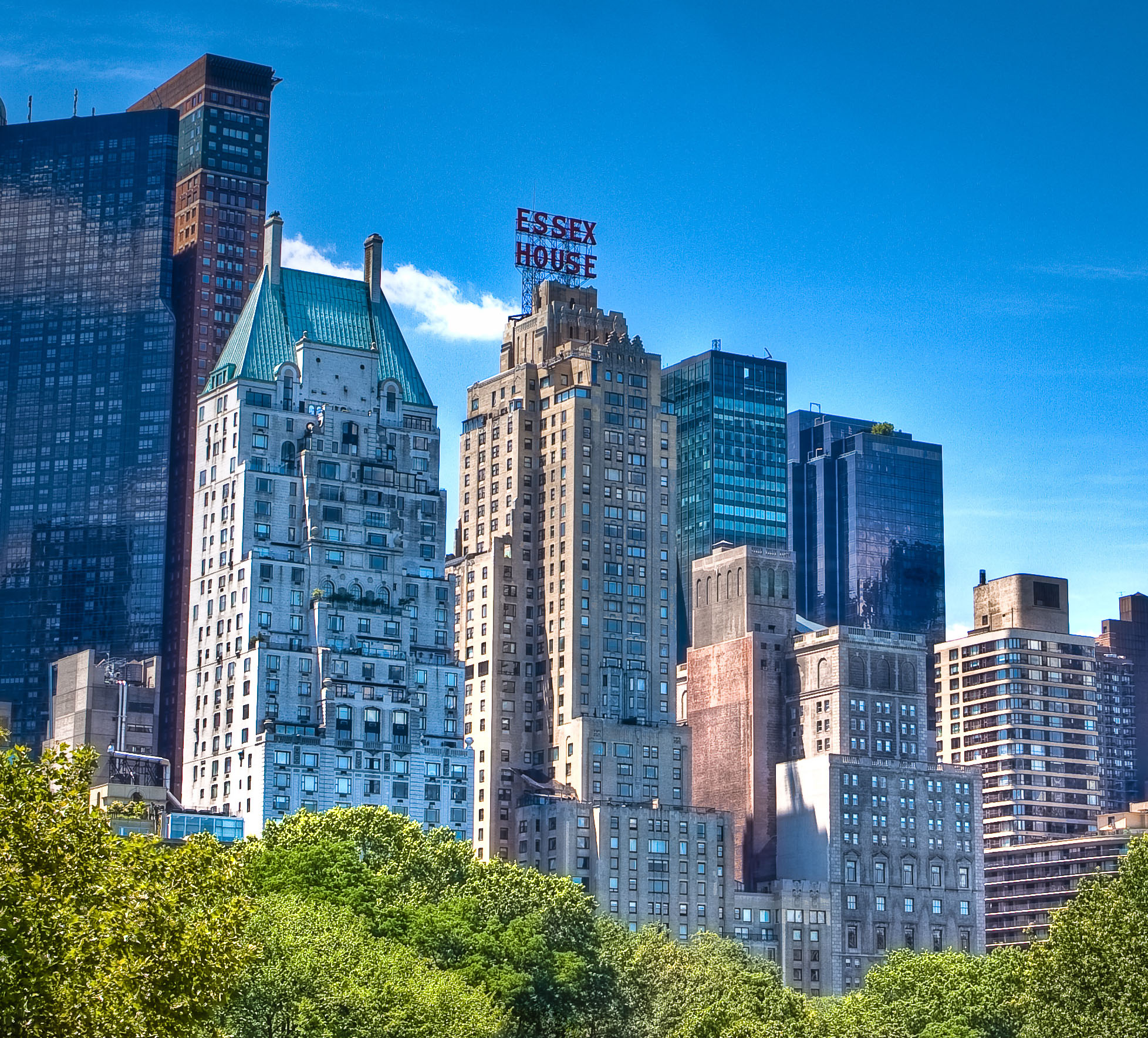 New york city gets first jw marriott frequent business for Hotels near central park new york
