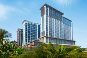 Exterior of Sheraton Macao Hotel