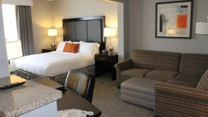 Guest Room at DoubleTree by Hilton Des Moines Airport
