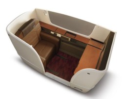 Redesigned JAL Suite seat