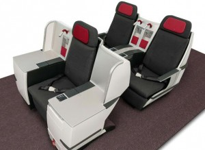 Austrian Airlines' new long haul Business class seats
