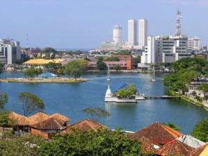 Beira Lake in Colombo