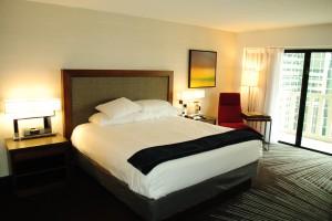 A Hyatt hotel room