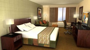 King Room at DoubleTree by Hilton Boston North Shore
