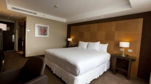 Room at DoubleTree by Hilton Mexico City Airport