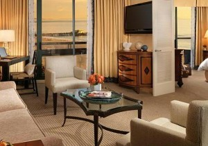 Tower Suite at Fairmont Miramar Hotel
