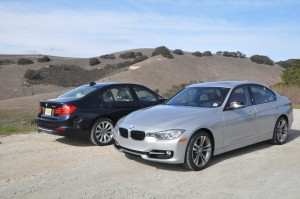 The new 2012 BMW 3 Series Sedan