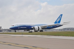 The Dreamliner on tour at DFW