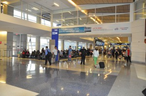 American Airlines' terminal at DFW