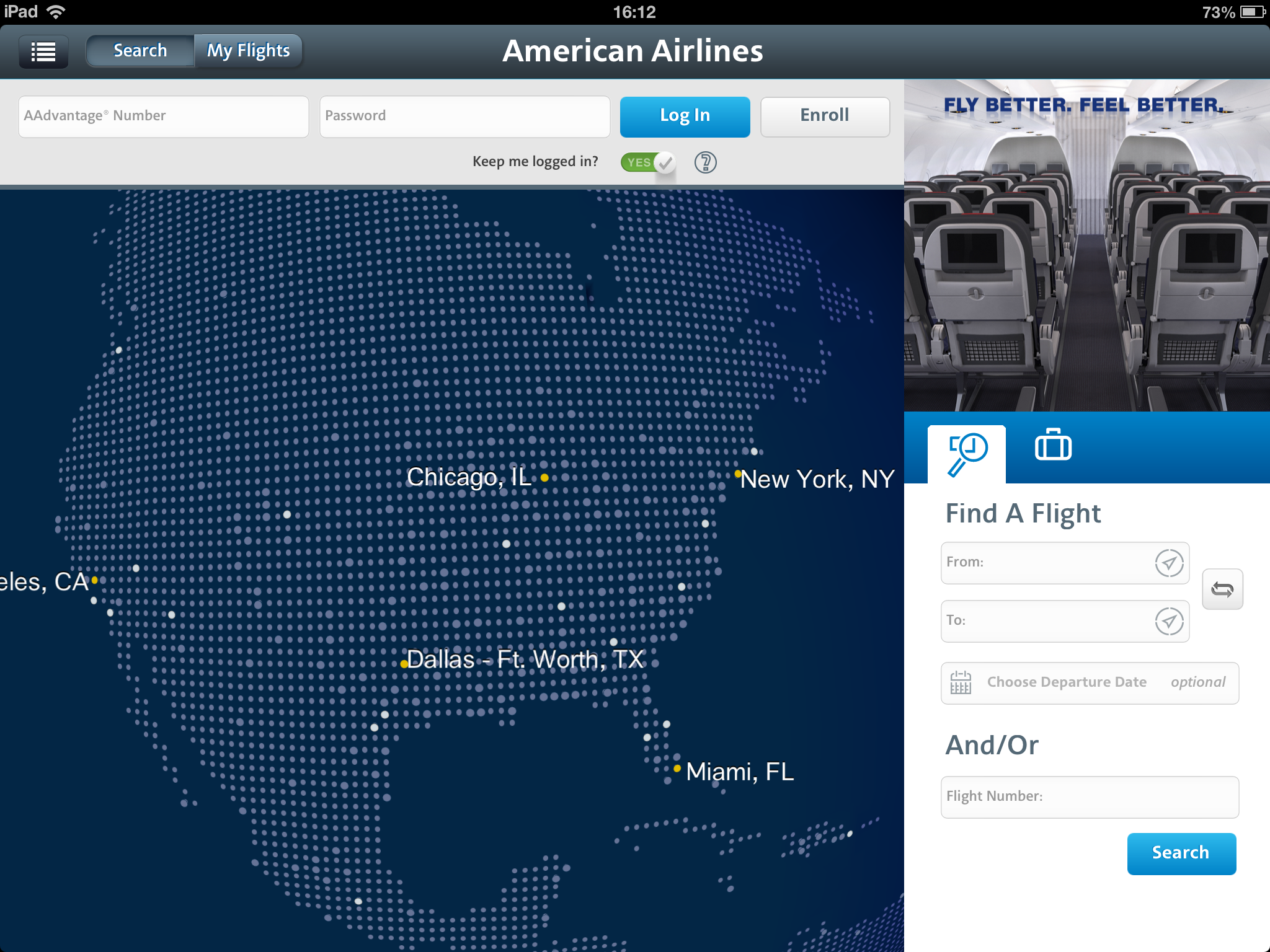 American Airlines Launches New Ipad App Frequent