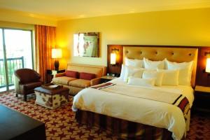 A JW Marriott hotel room
