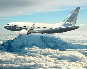 Rendering of Boeing 737 Max