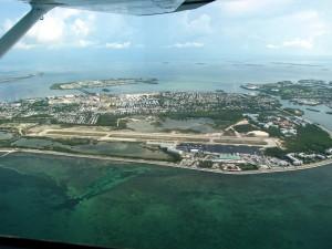 Aerial view, Key West International Airport