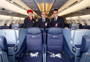 Air Berlin's new business-class seats