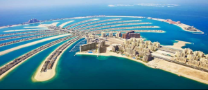 Palm Jumeirah, the world's largest manmade island