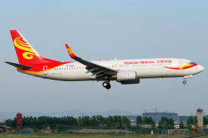 A Hainan Airlines 737-800