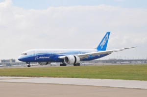 Boeing 787 Dreamliner at Dallas/Fort Worth