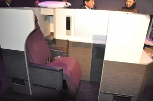 JAL Sky Suite business class seat (777 version)