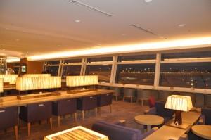 JAL Sakura lounge at Tokyo International Airport