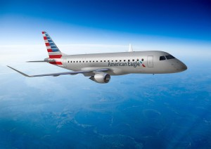 Embraer E-175 in new American livery