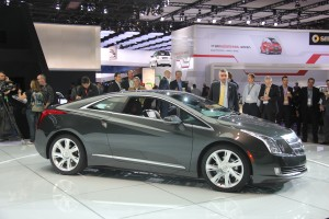 Cadillac ELR electric vehicle