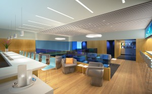 Rendering of T5 Airspace Lounge