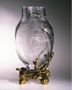 Baccarat vase ca. 1890