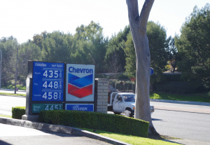 Fuel prices in Southern California this week